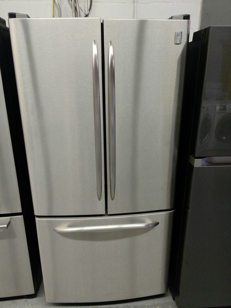 French Door Stainless Steel Refrigerator Maryland Used