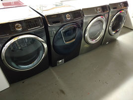 Washers and dryers photos