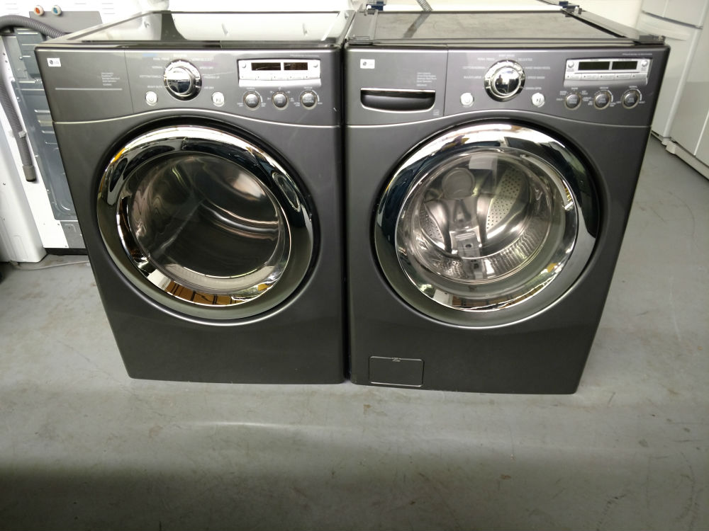 Used washer and dryer