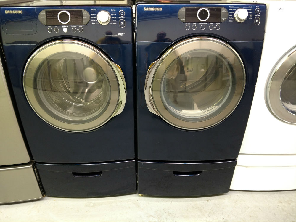 Used washing machines