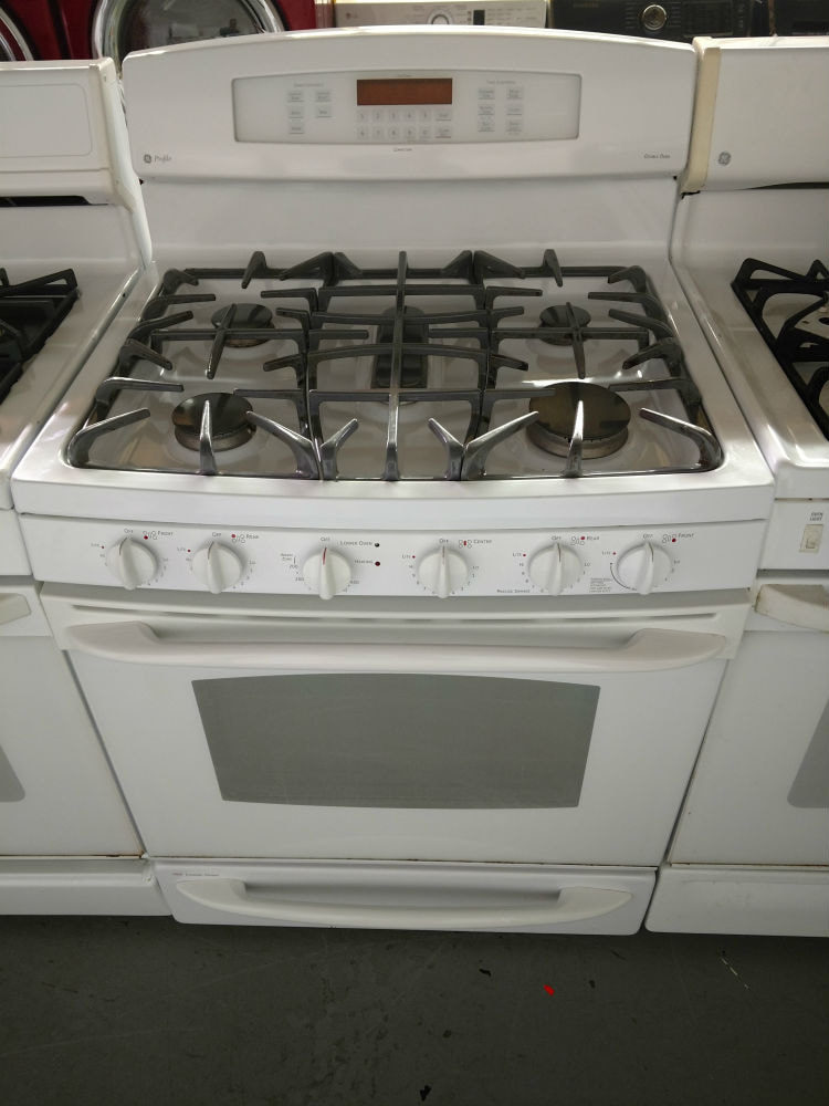 Two oven gas stove